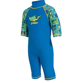 Zoggs Deep Sea Sun Protection One Piece Kids Blu China/Green